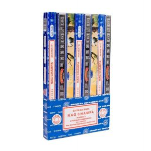 Satya Nag Champa Variety Pack (Set of 8)