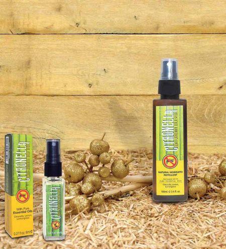 100 ml. Citronella - Anti Mosquito Room Freshener in Round Bottles