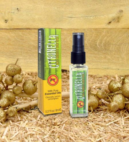 8 ml. Citronella - Anti Mosquito Room Freshener in Square Bottles