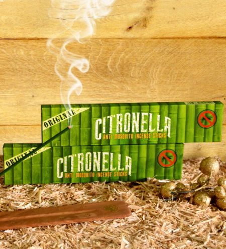 15 g. Citronella - Anti Mosquito Incense Sticks (Set of 12)