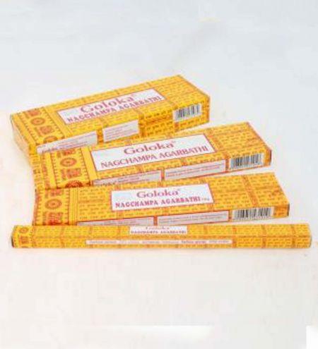 Goloka Nag Champa Incense Sticks - Choose your Packaging