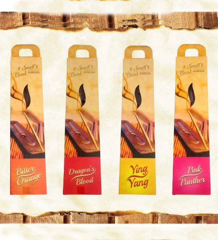 15 g. #Smell's Good Incense Sticks with Holder (Set of 12)