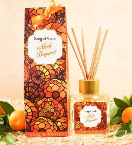 100 ml. Little Pleasures Reed Sticks Room Diffuser in Square Glass Jar