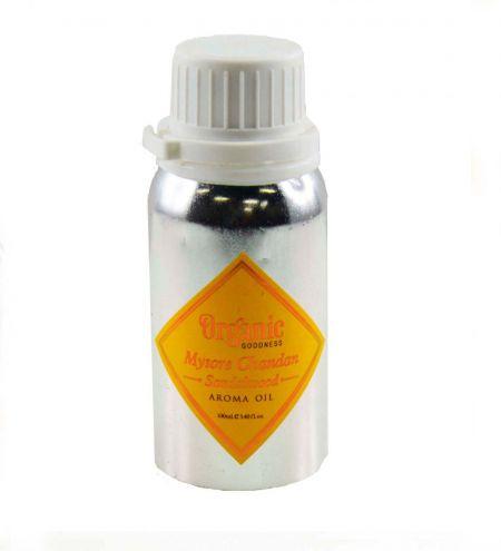100 ml. Organic Goodness Aroma Oil in Bulk Aluminium Cylinder