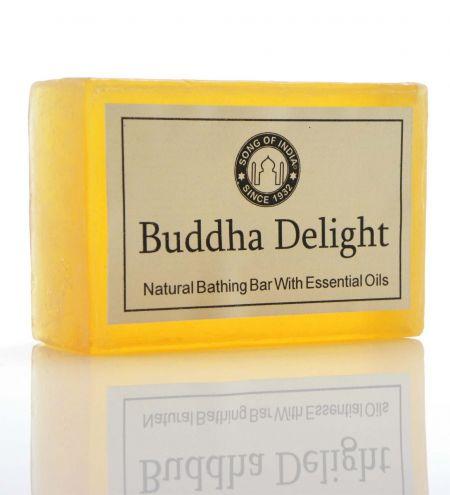 125 g. Handmade Bathing Bar Glycerin Soap in clear shrink